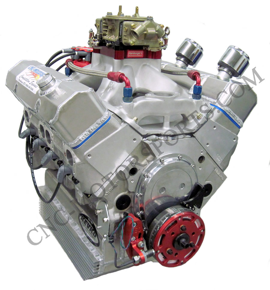 Open Circle Track Engines