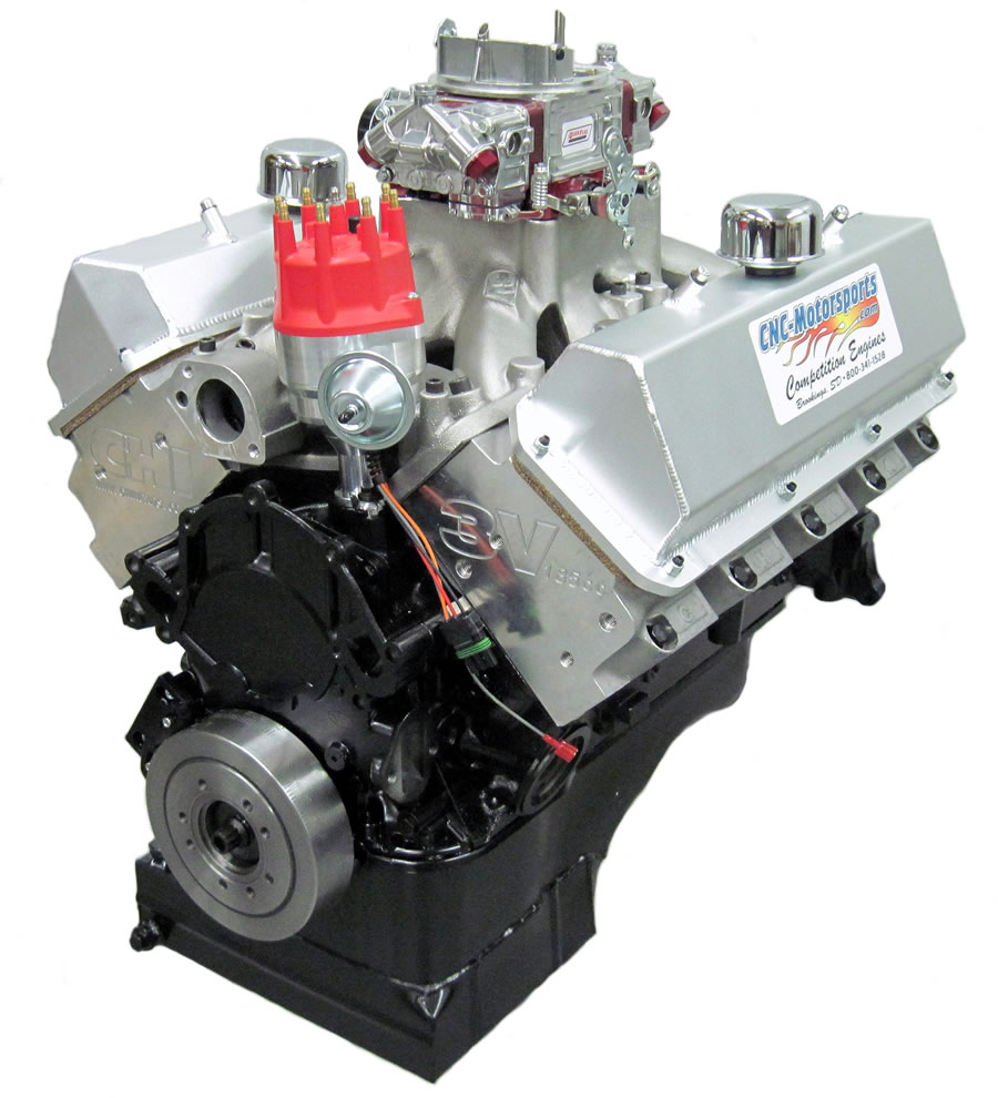 CNC Small Block Ford CLEVOR 427 Stroker Street Engine, 620