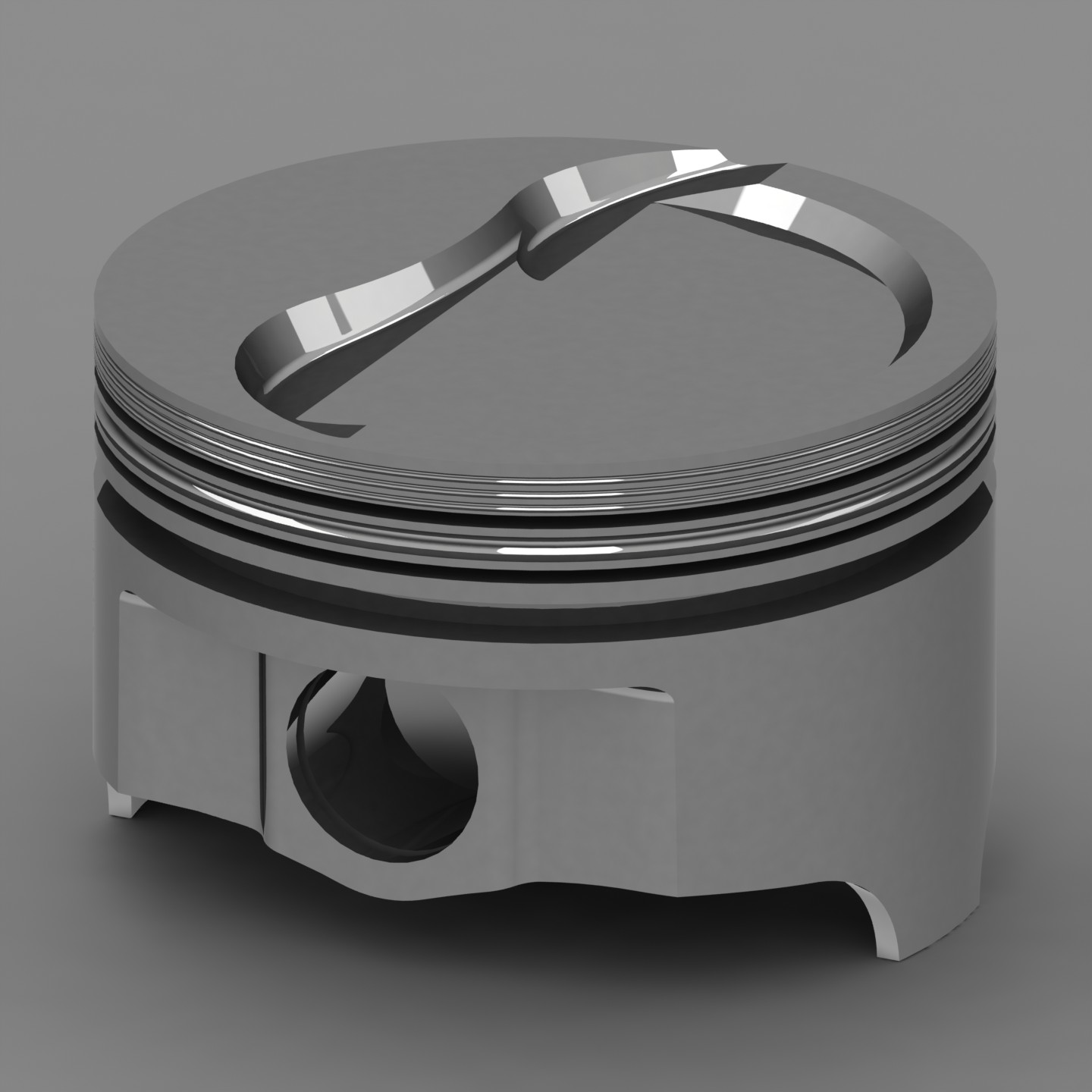 Icon IC867-040 Forged Dish Pistons 4.170 Bore
