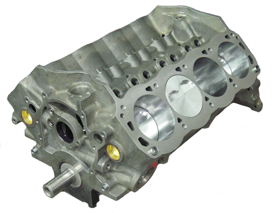 CNC Competition SB Ford 363 Stroker Dart Short Block - Eagle, JE 9 5:1  Pistons
